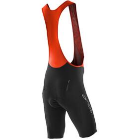 ORCA Customer Bib Shorts Men, black orange